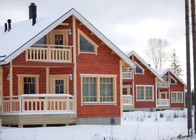 Коттеджи финляндия аренда новый год тахко