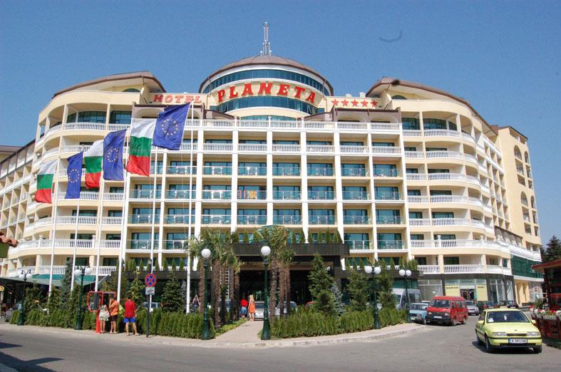Болгария солнечный берег отель планета 5